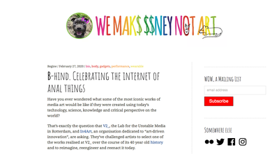 Celebrating the internet of anal things