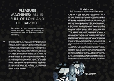 Pleasure Machines: All is Full of Love and The Bar Bot