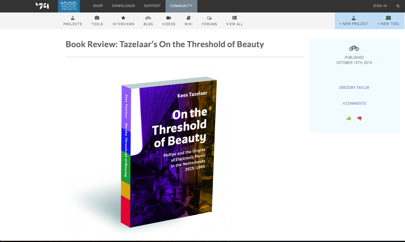 Cycling74 reviews On the Threshold of Beauty