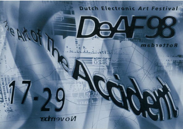 DEAF98 - The Art of the Accident Programme Booklet