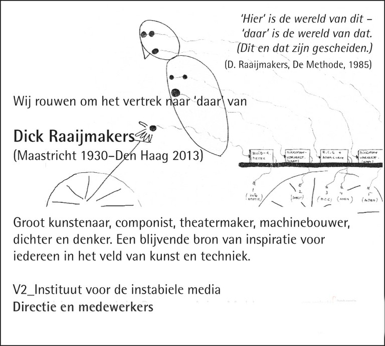 Dick Raaijmakers 1930-2013
