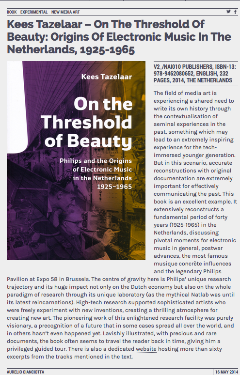 Neural reviews On the Threshold of Beauty