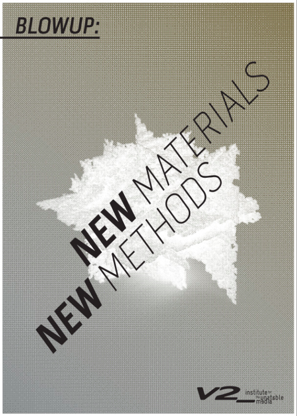 New Materials New Methods (Blowup Reader 8)