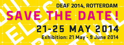 Save the Date: DEAF 2014