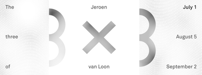 3x3: The Three of Jeroen van Loon I (Kunstavond)