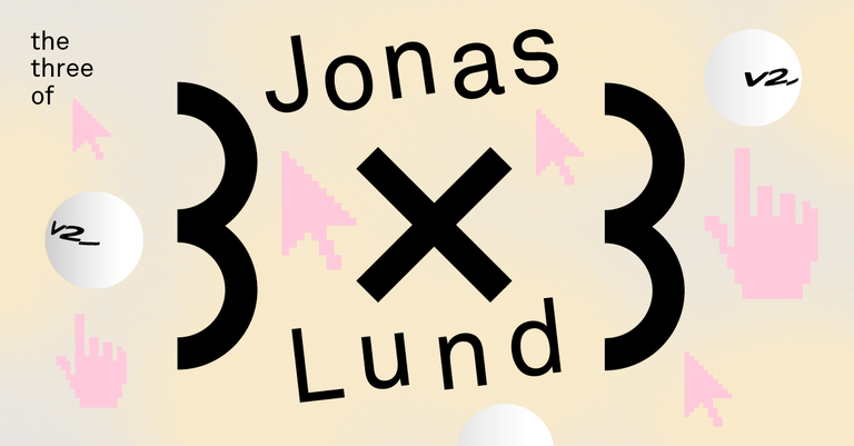 3x3: The Three of Jonas Lund I