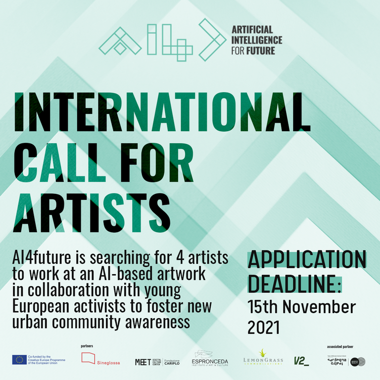 AI4FUTURE: Open Call for Residencies