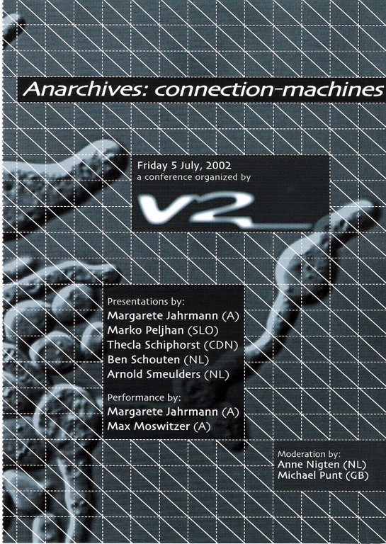 Anarchives: Connection-machines