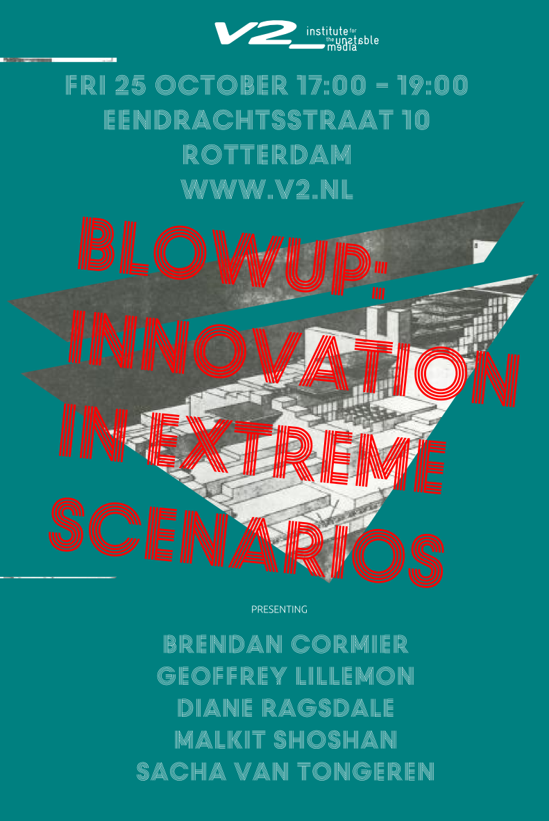 Blowup: Innovation in Extreme Scenarios