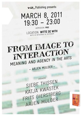 Book Launch: From Image to Interaction