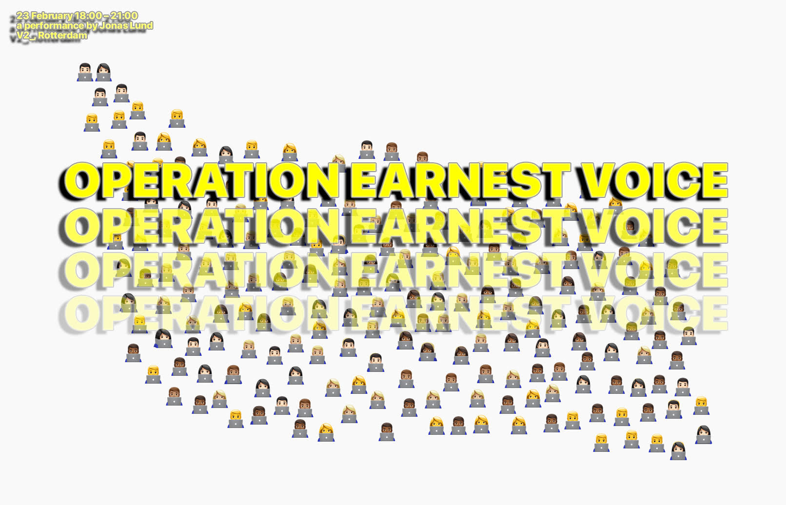 Coolstof: Operation Earnest Voice