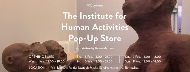 IHA Pop-Up Store at V2_