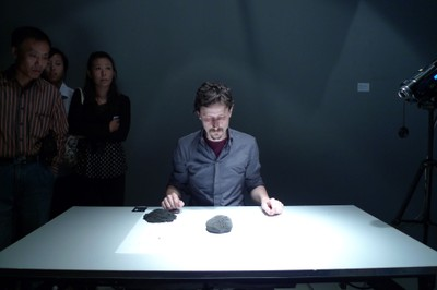 Julien Maire performs Model for the Apocalypse