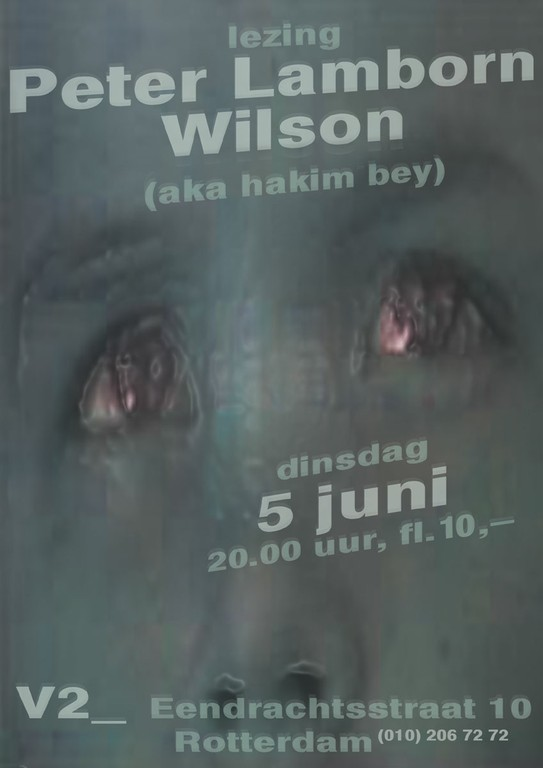 Lecture by Peter Lamborn Wilson
