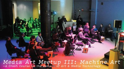 Media Art Meetup (3/4) - Introduction to Machine Art