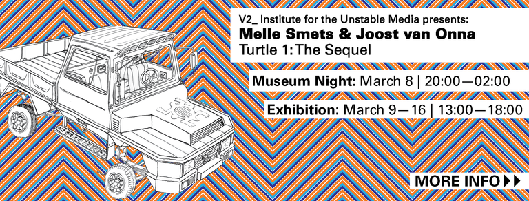 Museum Night 2014: V2_ presents Turtle 1, The Sequel