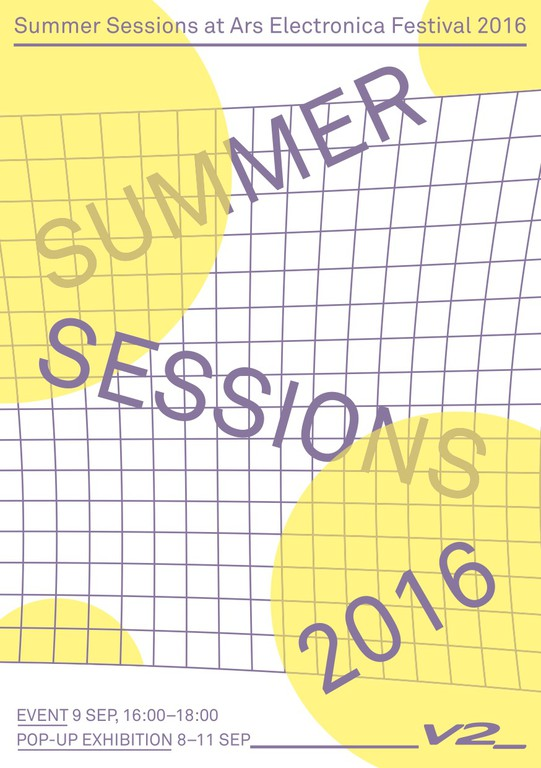 Summer Sessions Pop-Up Exhibition at Ars Electronica