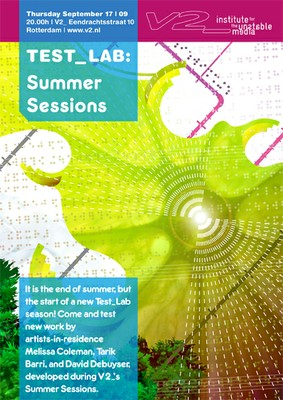 Test_Lab: Summer Sessions 2009