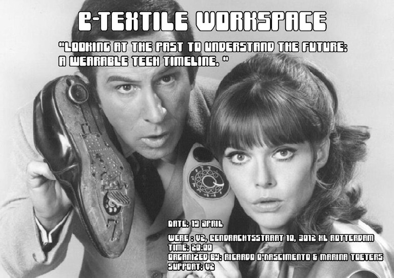E-textile workspace Meetup