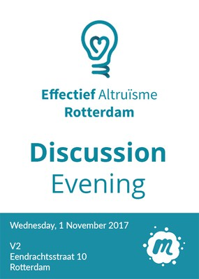 V2_Community Invites: Effective Altruism Rotterdam
