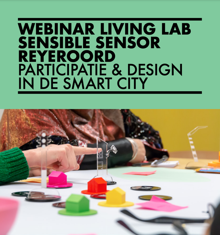 Webinar Living Lab Sensible Sensor Reyeroord (invite only)