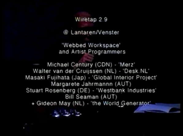 Wiretap 2.09 - 'Webbed Workspaces and Artist Programmers'.