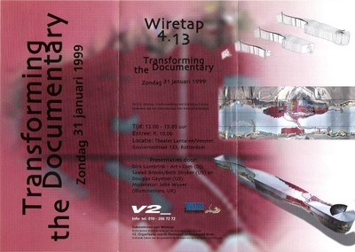 Wiretap 4.13 - Transforming the Documentary