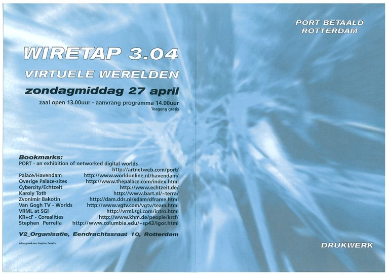 Wiretap 3.04 flyer
