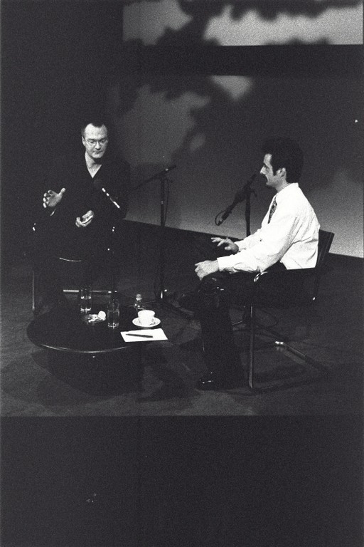 Marcel Möring and Mark Dery