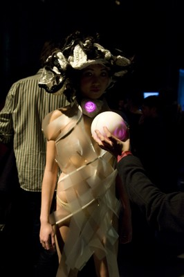 'Intimacy' dress activated by the public