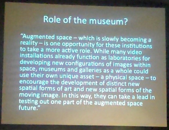 Role of the museum?