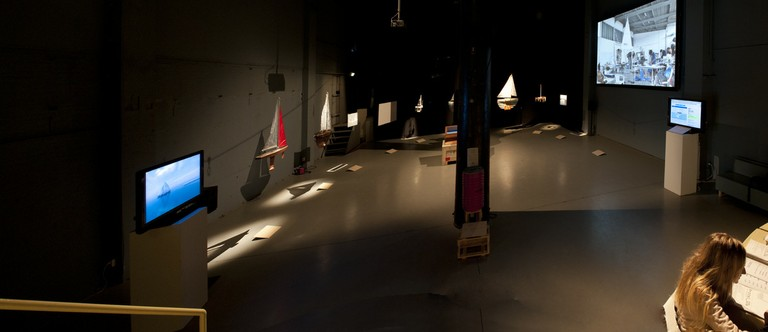 Panorama of the Protei exhibition
