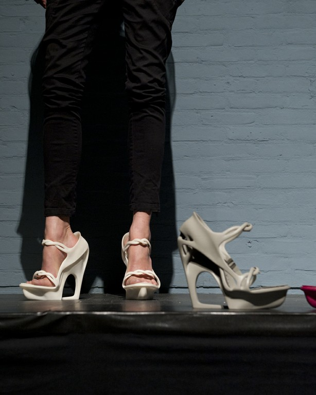 3D-printed shoes by Pauline van Dongen