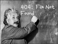 404 not found: We are cleaning up our websites