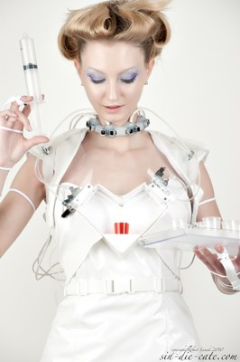Cocktail Making Robot Dress