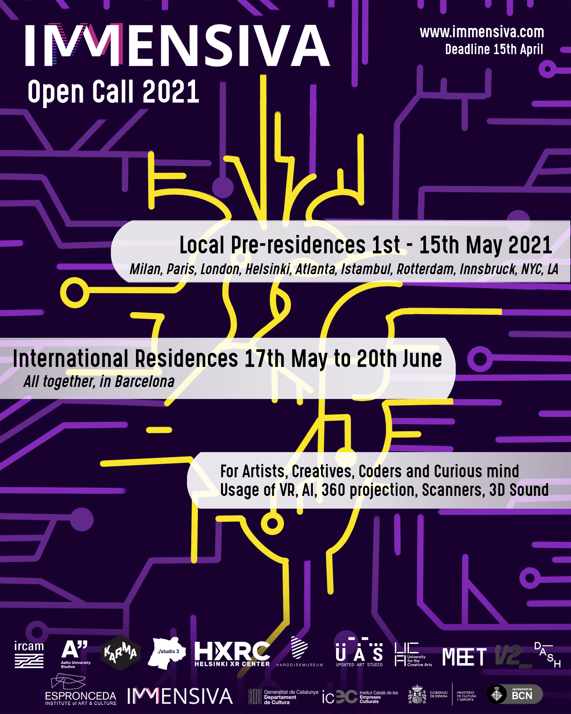 Immensiva Open Call 2021