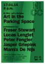 Marnix de Nijs at Art in the Parking Space