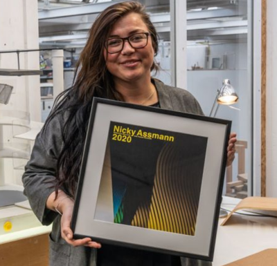 Nicky Assmann receives the 2020 Witteveen+ Bos Art+Technology Award