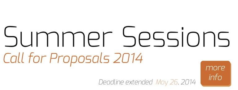 Summer Sessions 2014 Call