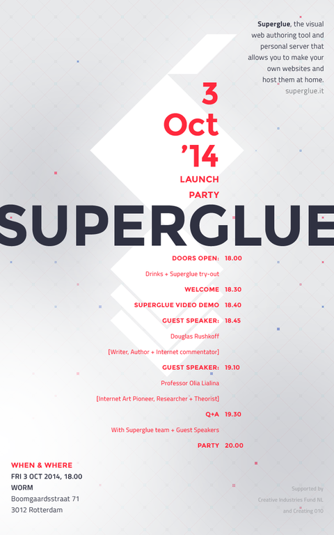 Superglue Launch Party