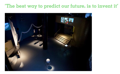 The best way to predict our future, is to invent it
