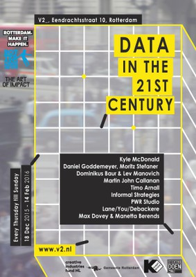 Tickets events and exhibition Data in the 21st Century now on sale