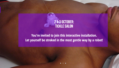 Tickle Salon 2 and 3 October