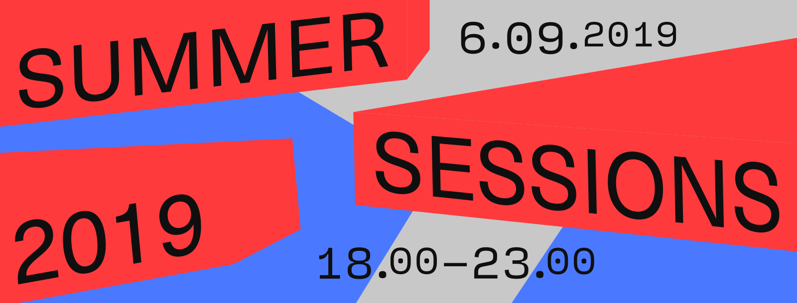 Summer Sessions 2019 (Kunstavond XL)