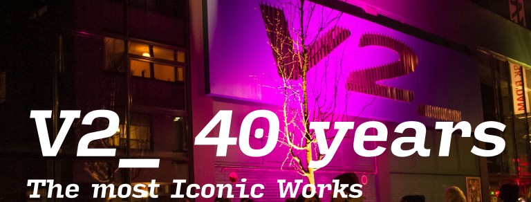 Our community has spoken: the most iconic works of 40 years of V2_